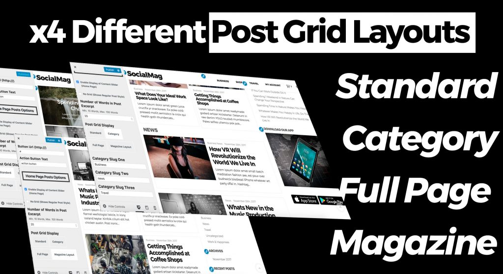 post grid layouts
