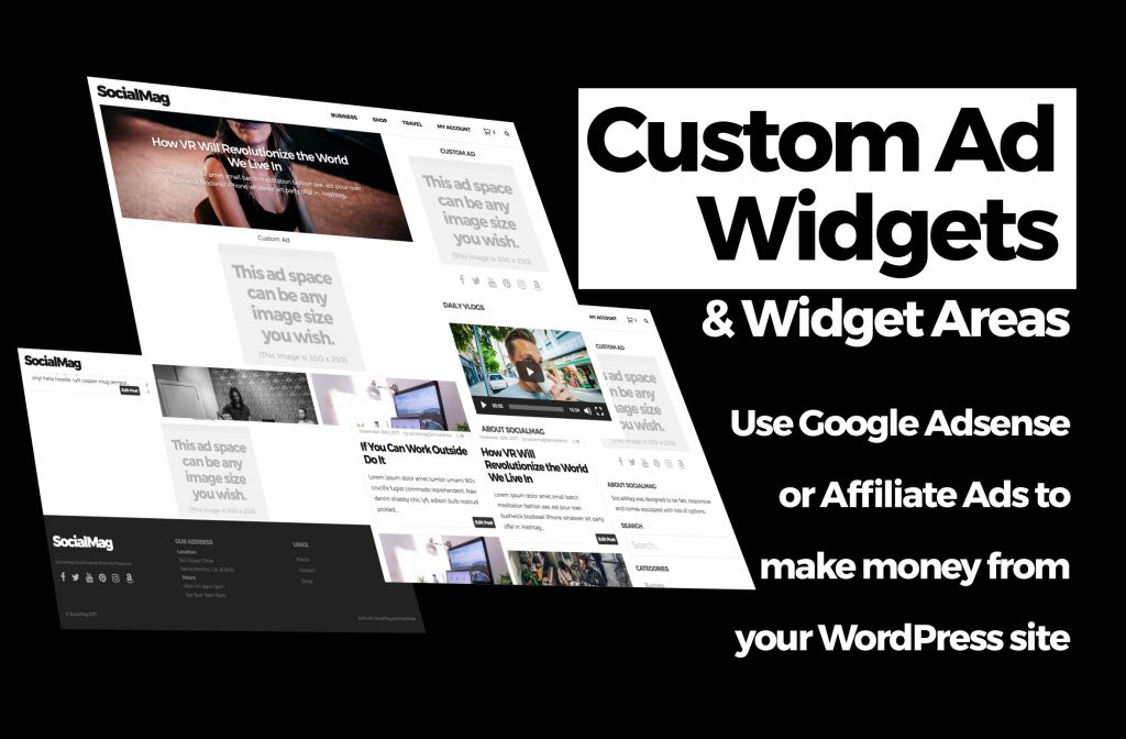 custom ad widget