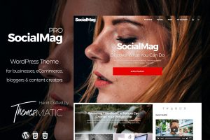 socialmag pro wordpress theme
