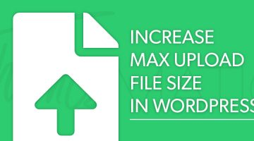 increase file size wordpress
